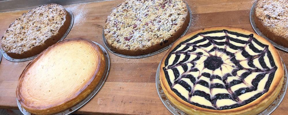 Kuchen für die Gastronomie